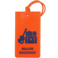 Flight 001 – Where Travel Begins. F1 Rubber Tag Major Baggage