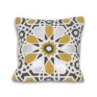 Square Kaleidoscope Pillow