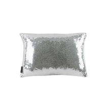 Sasha Pillow - Silver Sequin