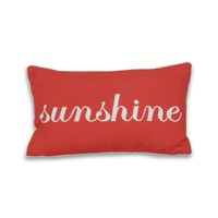 Sunshine Script Pillow