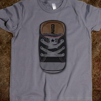 BLACK CASUAL all star converse SHOES KIDS TEE TSHIRT