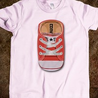 RED CASUAL all star converse SHOES KIDS TEE TSHIRT