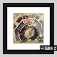 Framed print by cattanart on #twenty20.