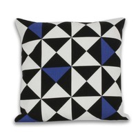 Origami Pillow - Blue