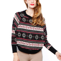 X-MAS SWEATER TOP