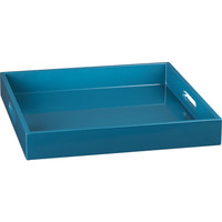 square hi-gloss swoon tray