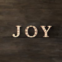 Marquee Word - Joy