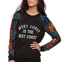 Neff Fabric Mix Crew Fleece at PacSun.com
