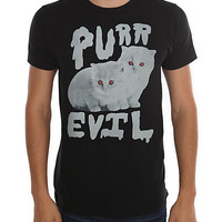 Purr Evil Slim-Fit T-Shirt 4XL
