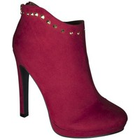 Women's Mossimo Val Ankle Pumps - Red