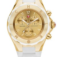 MICHELE 'Tahitian Jelly Bean' Gold Watch, 40mm | Nordstrom