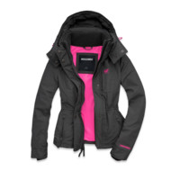 Womens Hooded | Womens A&F Weather Warrior | Abercrombie.ca