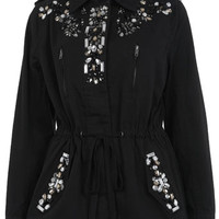 Embellished utility Jacket. - Coats & Jackets - Apparel