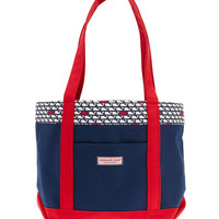 Vineyard Whale Colored Classic Tote