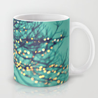 twinkle lights Mug by Sylvia Cook Photography