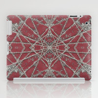 Snowflake Red iPad Case by Project M