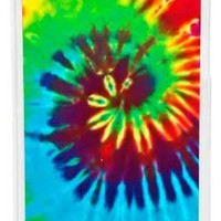 CellPowerCasesTM Tie Dye Case for iPhone 5c (Clear Case)