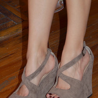 The Katy Wedge: Brown