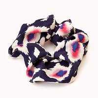 Striking Ikat Scrunchie