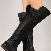 Breckelle Tenesee-17 Round Toe Riding Knee High Boot