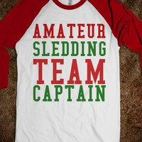 Amateur Sledding Team Captain