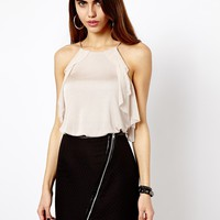 River Island Frill Swing Cami Top