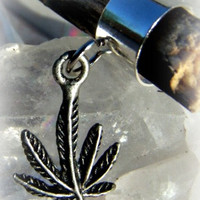 Marijuana Ear Cuff, Hippie, Hipster, Direct Checkout, Ready to Ship,Marijuana Leaf