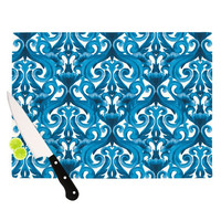 "Aimee St. Hill ""Intertwined Blue"" Cutting Board"