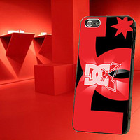 Red DC Shoes Hard Case for iPhone 4,iPhone 4s,iPhone 5,iPhone 5s,iPhone 5c,Samsung Galaxy s2 / s3 / s4