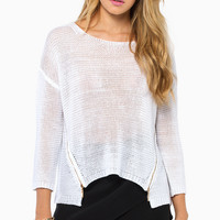 Double Zip Sweater $42
