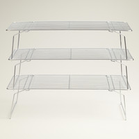 3-Tier Stackable Cooling Rack