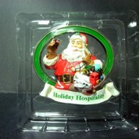 Coca Cola Cavanagh's Special Addition Santa Claus CHRISTMAS ORNAMENT MIB
