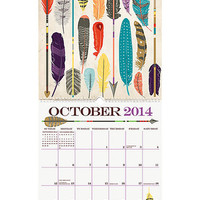 Paper Source 2014 Paper Source Art Grid Calendar from Paper Source | BHG.com Shop