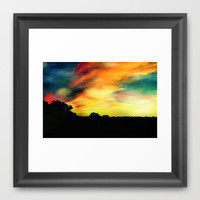 A Dreamscape Revisited Framed Art Print by Caleb Troy