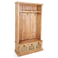 Hayden Coat Cabinet, Natural