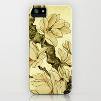 Floral iPhone & iPod Case by Armine Nersisian