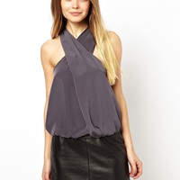 ASOS Top with Drapey Halter