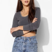 Urban Renewal Screen Printed Denim Short - Urban Outfitters