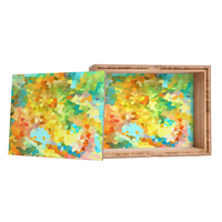 Rosie Brown Splattered Paint Jewelry Box