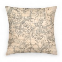 Constellation Map Pillow
