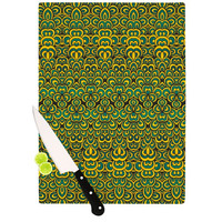 "Pom Graphic Design ""Animal Temple II"" Cutting Board"
