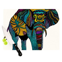 "Pom Graphic Design ""Elephant of Namibia"" Cutting Board"