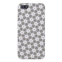 Fancy SnowflakesPattern Phone 5 Case