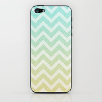 Chevron Rain iPhone & iPod Skin by M Studio
