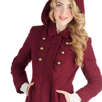 Jack by BB Dakota Food Forest Tour Coat | Mod Retro Vintage Coats | ModCloth.com