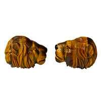 Lion Cufflinks, by Michael Kanners
