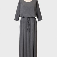 Braidwood Curvy Plus Maxi Dress In Gray