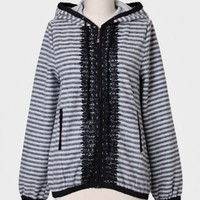 Casper Mountain Striped Hoodie