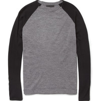PRODUCT - Alexander Wang - Raglan Sleeve Merino Wool Sweater - 371226 | MR PORTER