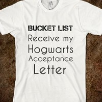 Bucket List Hogwarts